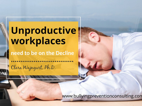 Unproductive workplaces need to be on the Decline