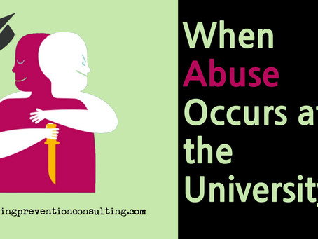 When Abuse Occurs at the University