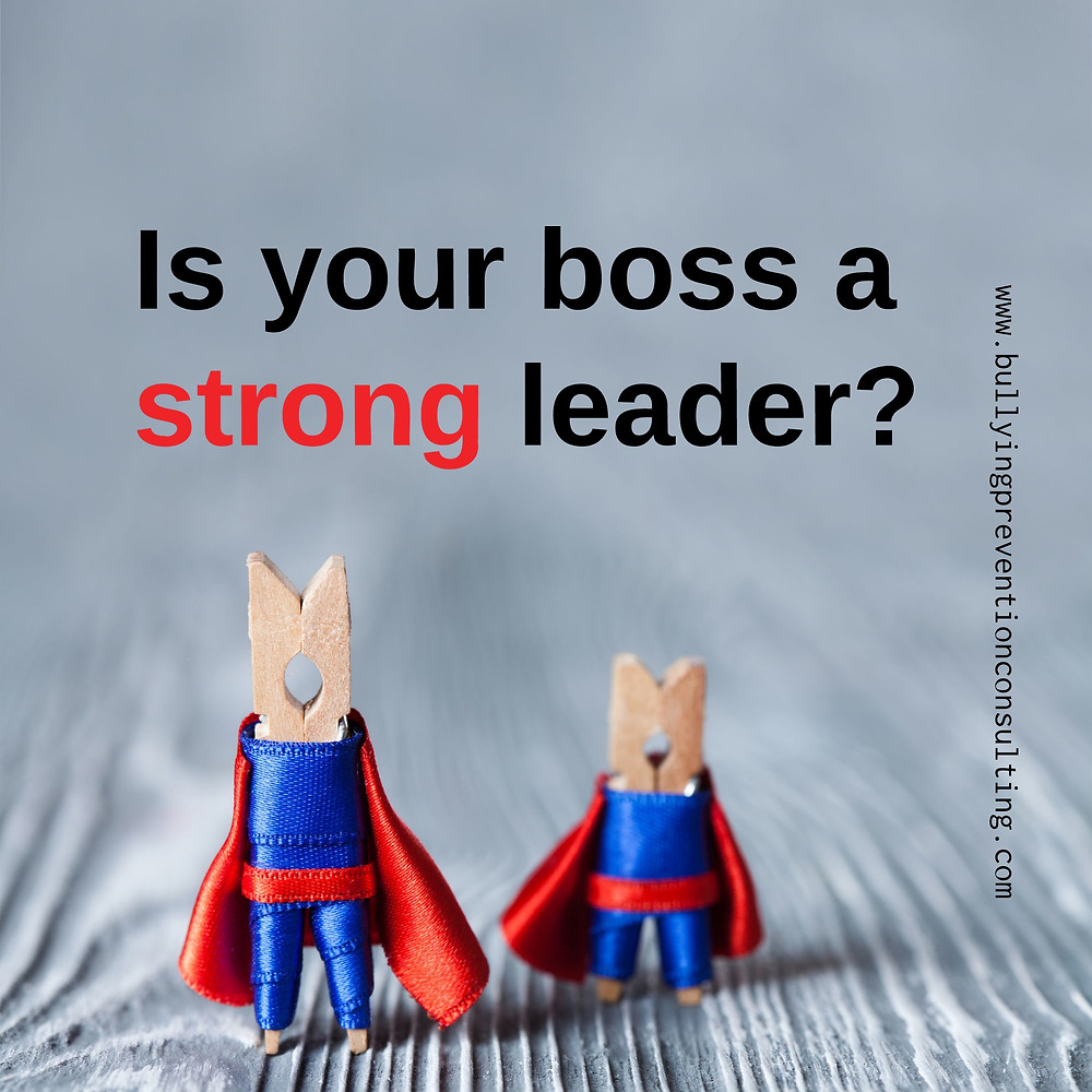 workplace bullying, work culture, leadership, boss