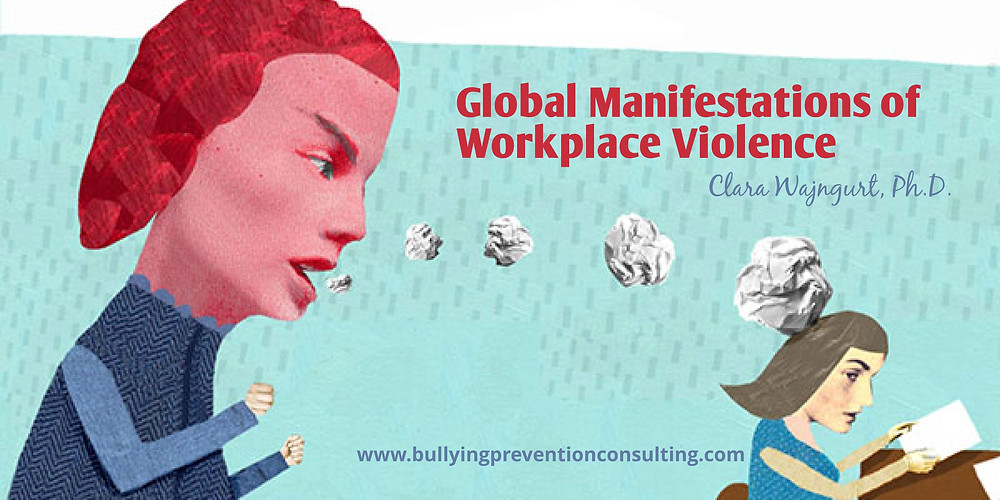 Workplace violence, harassment, bullying