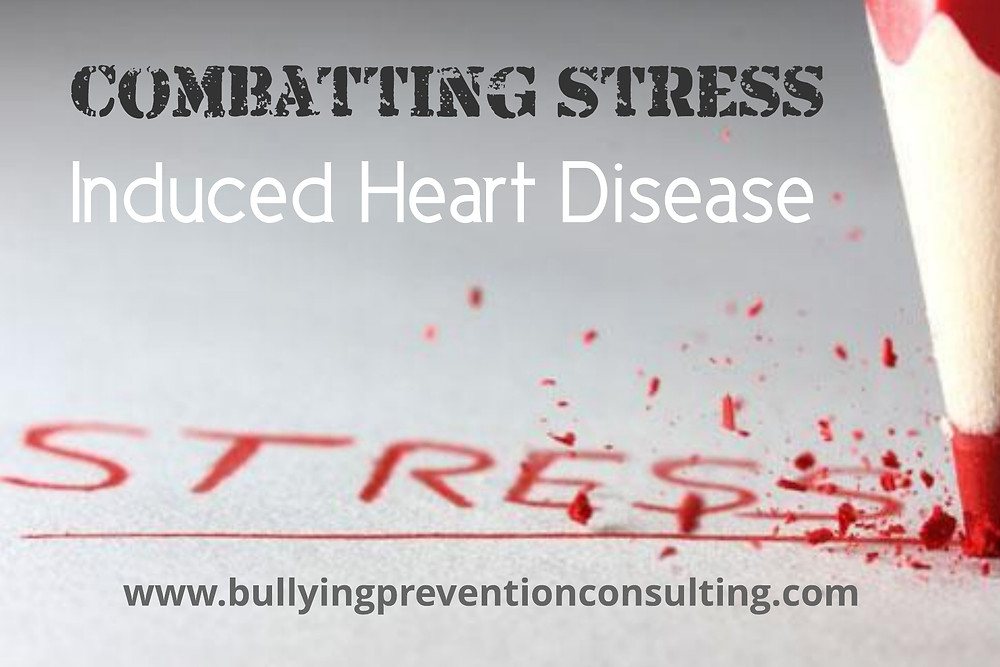 bullying, stress, heart disease