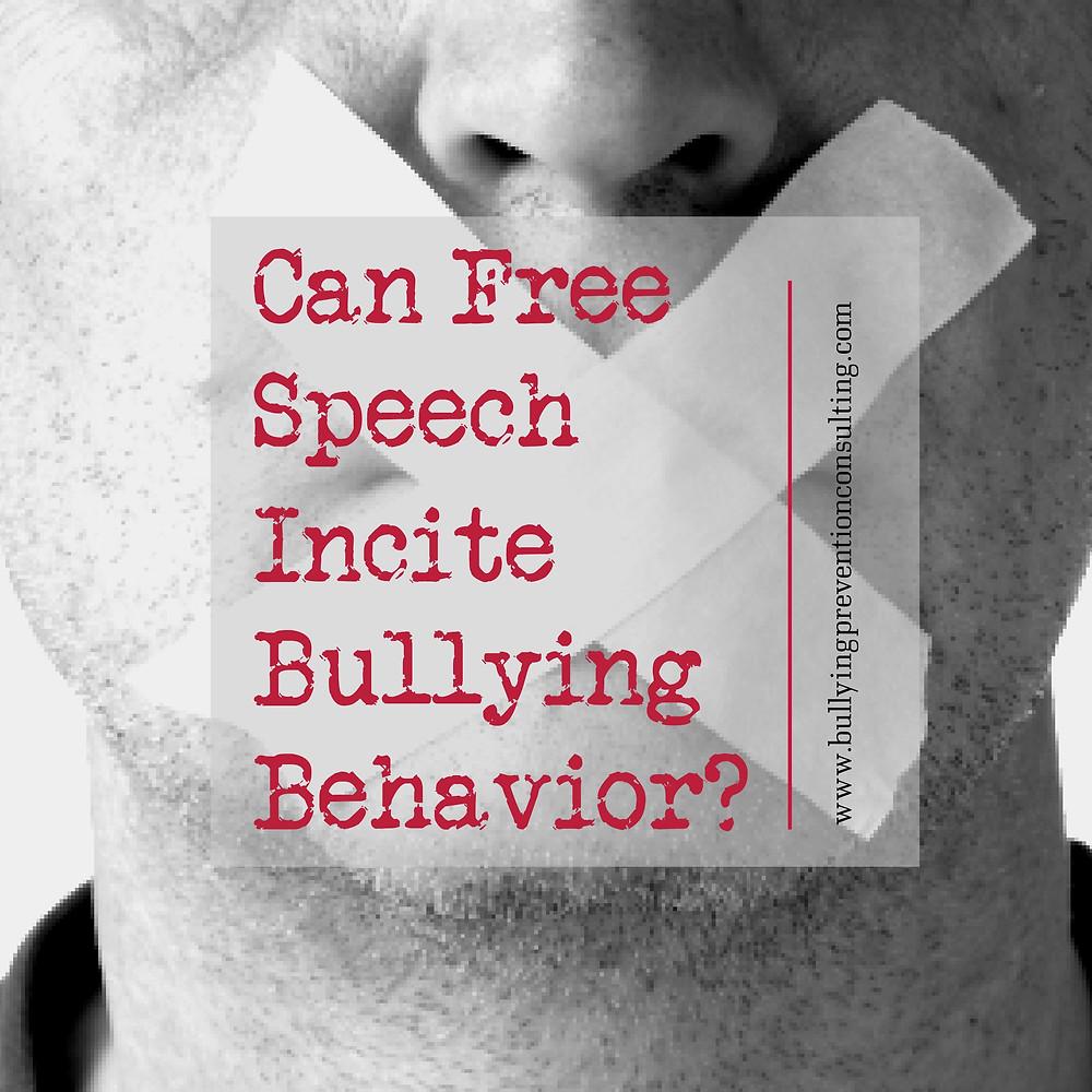 bullying, free speech, freedom of speech, speech law, diversity