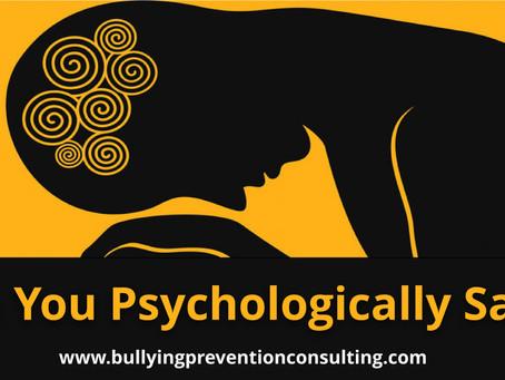 Are You Psychologically Safe?