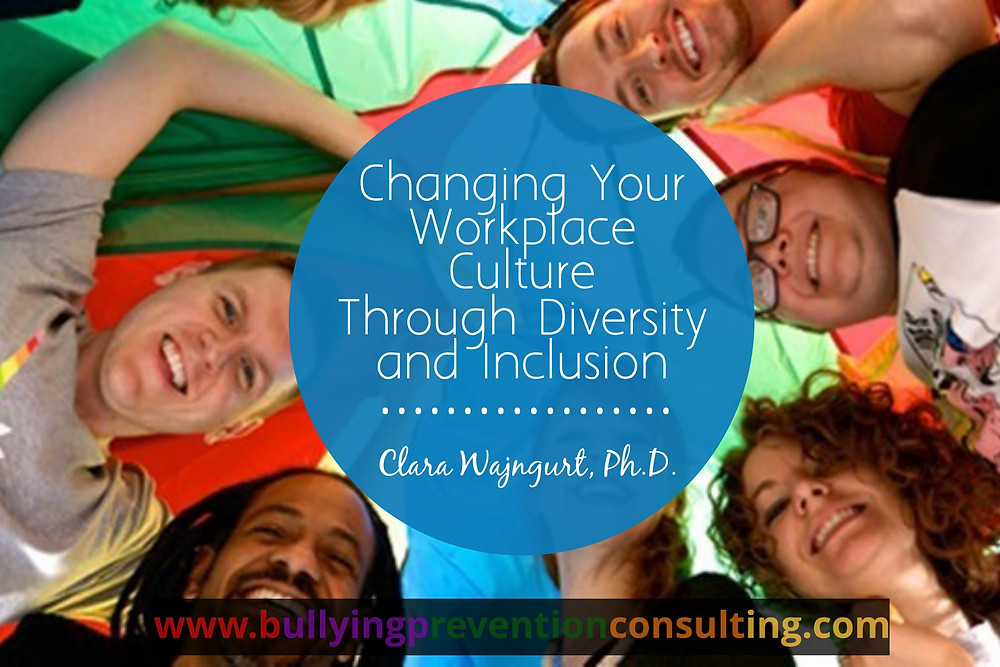bullying, diversity, inclusion, workplace culture, incivility at work, workplace culture