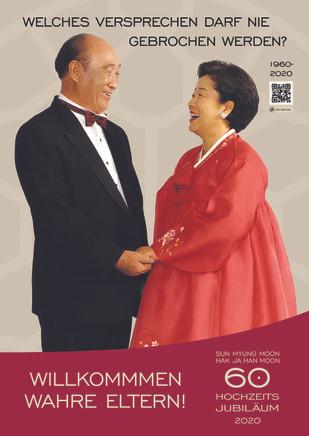 60. Hochzeits-jubiläum