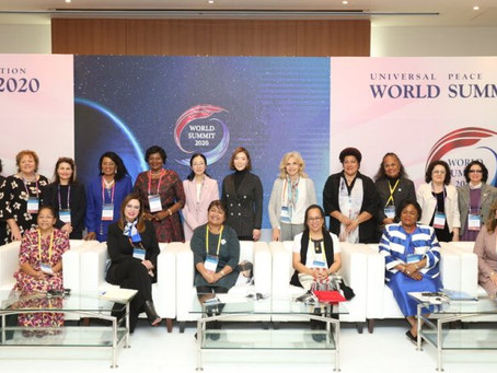 WFWPI, Launches International Association of First Ladies for Peace