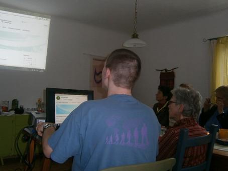 Homepage meeting in Haibach, Upper Austria