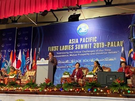 """FIRST LADIES SUMMIT"" in Palau, Dezember 2019"