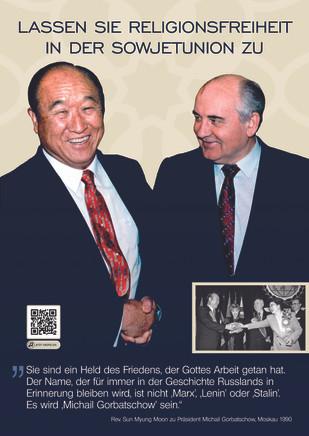 Treffen mit Präsident Gorbatschow