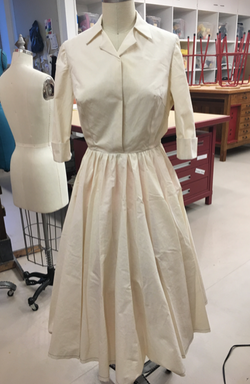 1950s Shirtdress