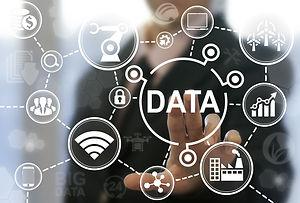 Big data industry 4.0 concept. Industria