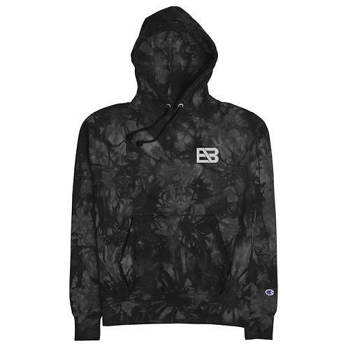 Unisex EB tie-dye hoodie