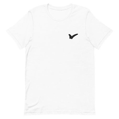 White Short-Sleeve Unisex T-Shirt