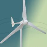 2000W horisontalakslet turbin