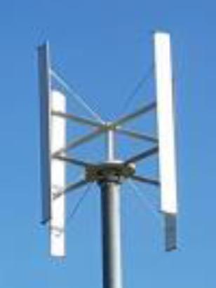 9800W Vertikalakslet turbin