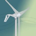 300W horisontalakslet turbin