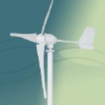 800W horisontalakslet turbin
