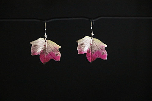 Ditton autumn Maple leaf earrings