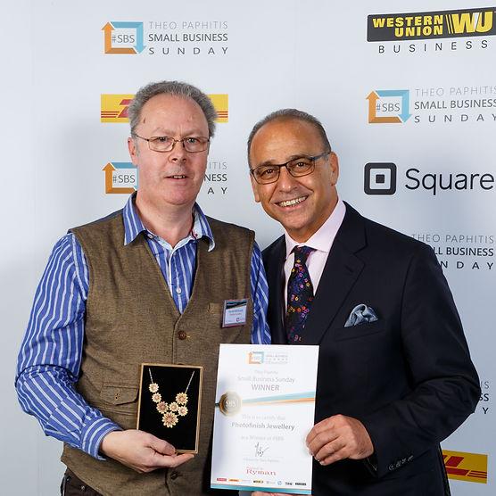 Photofinish Jewellery award from Theo Pa