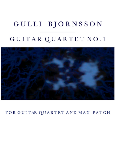 Guitar Quartet no.1