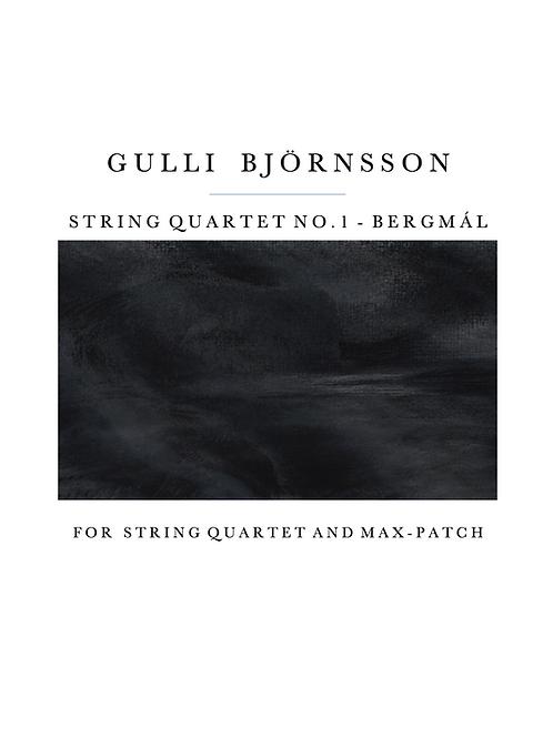 String Quartet no.1 -Bergmál
