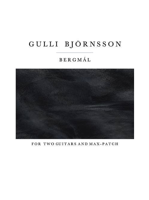 Bergmál - Two guitars and MaxPatch