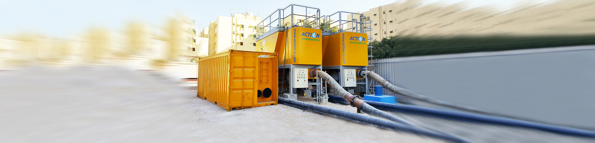 Dewatering - Pipeline Process Services - Water Treatment | Dubai