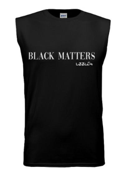 Black Matters x Lizzle4 Adult Sleeveless Shirt