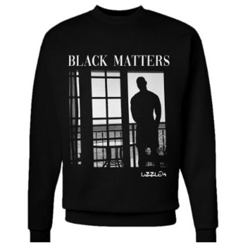 Black Matters x Lizzle4 Graphic Unisex Crewneck