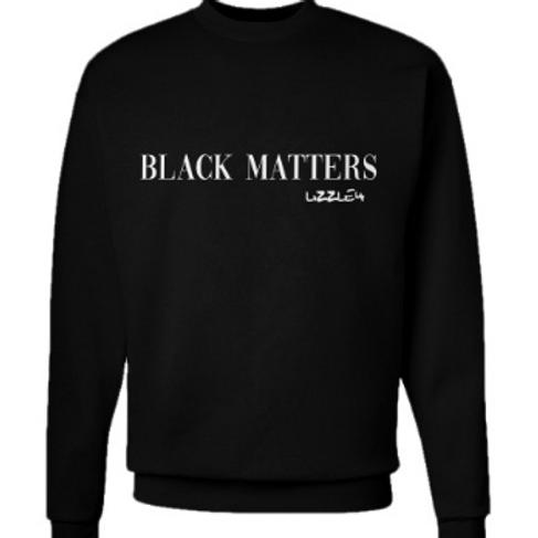 Black Matters x Lizzle4 Unisex Crewneck