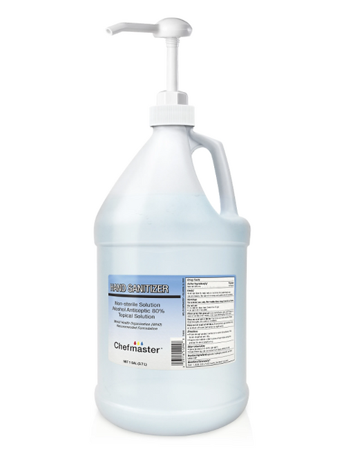 1 Gallon Hand Sanitizer with Pump (4 gallons per case)