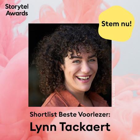 Lynn Tackaert genomineerd voor Storytel Award 2021