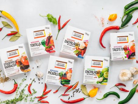 Fairtrade Original introduceert nieuwe lijn kruidenpasta's
