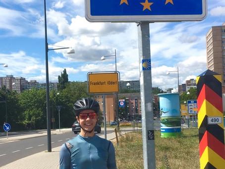 David Velthuis fietst voor Plenty Food
