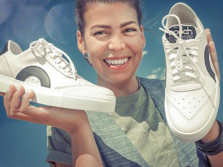 PRIMEUR: Zo ziet de eerste plant-based en zero waste sneaker van Nooch eruit!