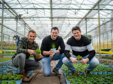 Drie jonge ondernemers ontwikkelen kruidentoren om verspilling tegen te gaan