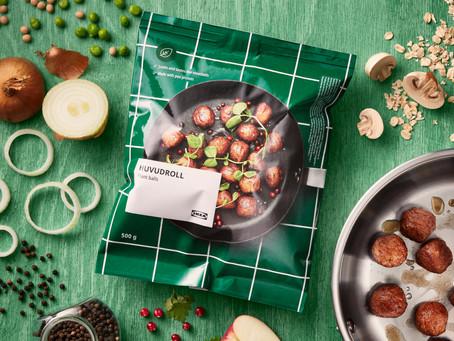 Eind 2020 moet 25% van IKEA Food plantaardig zijn