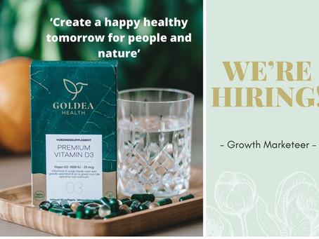 VACATURE - Goldea Health zoekt Growth Marketeer
