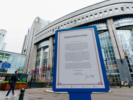 De Vegetarische Slager stuurt open brief aan Frans Timmermans