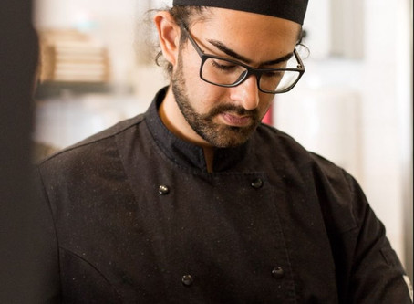 Chef-kok Raul Dhanani geeft online kookworkshop