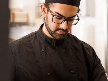 Chef-kok Raul Dhanani geeft online kookworkshop