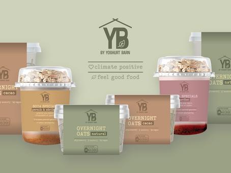 YB lanceert zes plantaardige producten