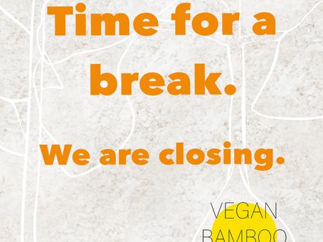 Vegan Bamboo Bar sluit deuren