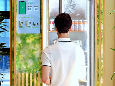 'Aanvragen Health Food Wall stromen binnen'