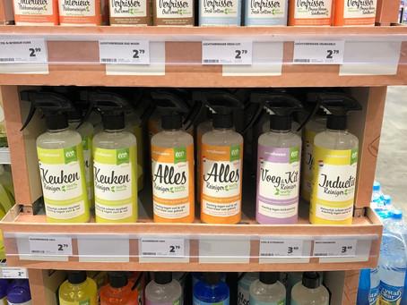 Jumbo Foodmarkt Groningen heeft primeur met plantaardige schoonmaaklijn