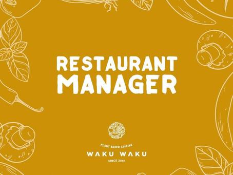 VACATURE - WAKU WAKU zoekt restaurantmanager