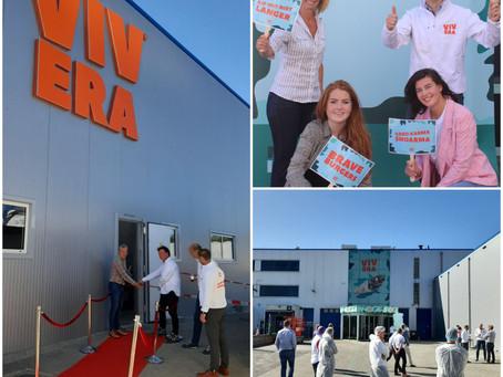 Vivera opent eerste deel nieuwbouw fabriek