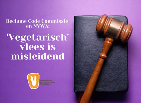 NVV wint zaak tegen slagerij die varkensgehakt als 'vegetarisch' verkoopt