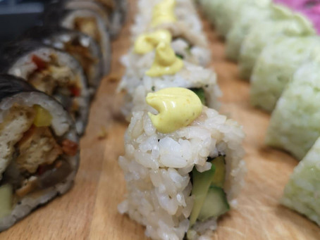 Plant Based Sushi heropent in Oosterparkbuurt