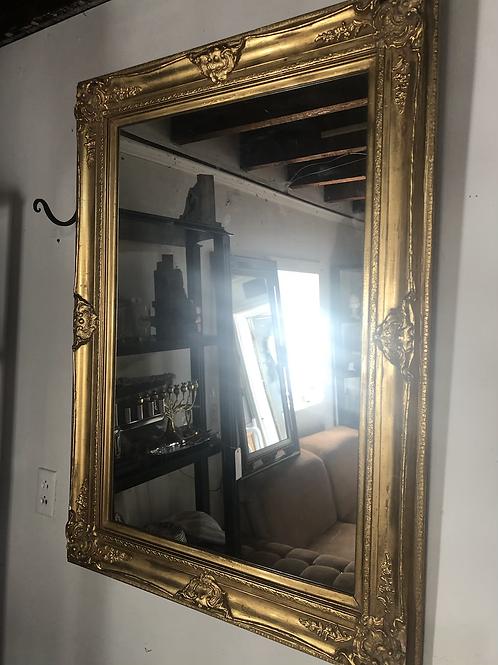 32x44 vintage gold mirror
